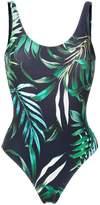 Lygia & Nanny Teresa tropical print swimsuit