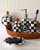 Mackenzie Childs MacKenzie-Childs Courtly Check Soap Dish