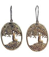 "House Of Alaia Filigree Drop Earrings ""Tree of Life"""