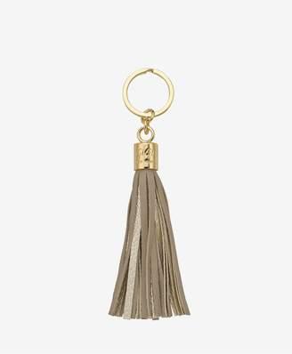 GiGi New York Tassel Key Chain In Stone And Gold