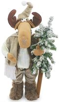 National Tree Company 24-in. Standing Moose & Tree Christmas Decor