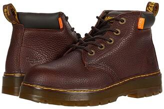 Dr. Martens Work Grader Extra Wide Internal Metguard (Light Teak Industrial Bear) Men's Boots
