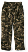 Classic Boys Husky Iron Knee Pull-on Ripstop Pants-Green Camo