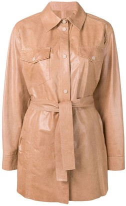 Drome Classic Leather Coat