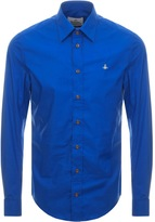 Vivienne Westwood Long Sleeved Shirt Blue