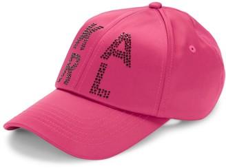 Karl Lagerfeld Paris Sparkle Bead Baseball Hat