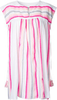 Lemlem striped short dress - women - Cotton/Acrylic - L