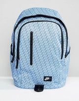 Nike All Access Soleday Backpack In Blue Ba5231-450
