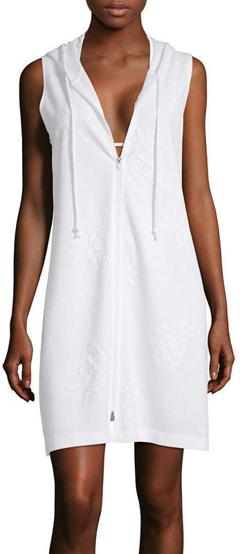 9b1019a6a6 White Sleeveless Swimsuit Cover Ups - ShopStyle