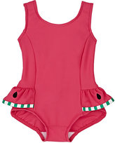 Florence Eiseman Watermelon-Skirt One-Piece Swimsuit