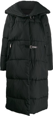 Barbara Bui quilted buckled coat