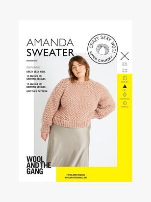 Wool And The Gang Amanda Sweater Knitting Pattern