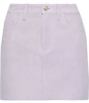 Current/Elliott The 5-pocket Suede Mini Skirt