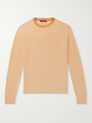 Loro Piana Silk And Linen-Blend Sweater