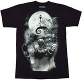 Mighty Fine Nightmare Before Christmas Jack Smokey Scene T-Shirt