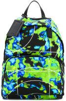 Prada digital print backpack