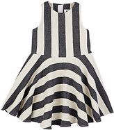 Milly STRIPED SLEEVELESS DRESS
