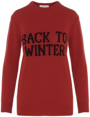 Alberta Ferretti Back To Winter Intarsia Sweater