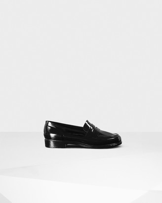 Hunter Women's Original Gloss Penny Loafers