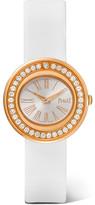 Piaget Possession Satin, 18-karat Rose Gold Diamond Watch - one size