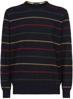Paul & Shark Striped Round Neck Sweater