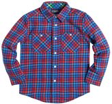 Chaps Toddler Boy Long Sleeve Plaid Flannel Button-Down Shirt
