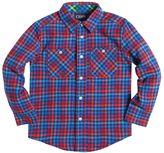 Chaps Toddler Boy Long Sleeve Plaid Flannel Button-Down Shirt