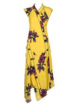 Proenza Schouler Floral Long Dress