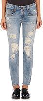 R 13 Women's Boy Skinny Jeans-BLUE, LIGHT BLUE
