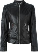 Diesel panelled zipped up jacket