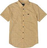 RVCA Men's Love Short Sleeve Woven Shirt