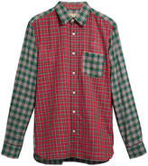Burberry tartan oxford shirt