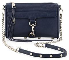 Rebecca Minkoff Mini MAC Crossbody Bag, Denim