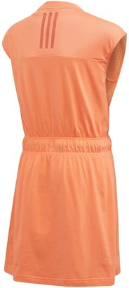 adidas Junior GirlsAthleticBold Dress - Orange