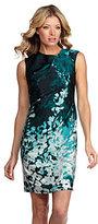 AK Anne Klein Floral-Print Dress