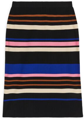 Arket Rib-Knitted Skirt
