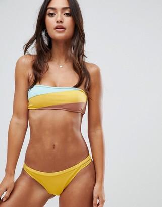 rhythm Sunchaser Itsy bikini bottom in yellow