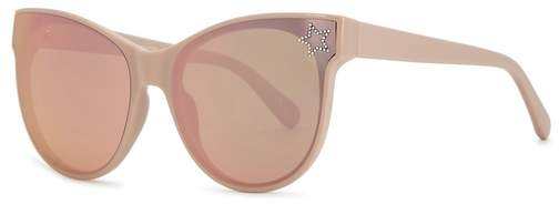 Stella McCartney Blush Cat-eye Sunglasses