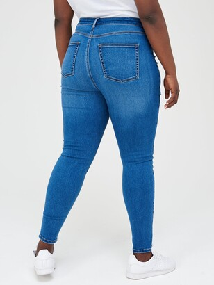 V By Very Curve High Waisted Skinny Jean