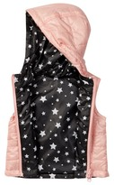 Urban Republic Reversible Attached Hood Vest (Baby Girls 12-24M)