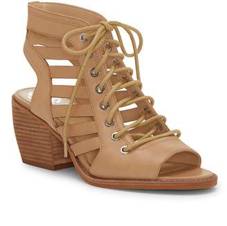 Vince Camuto Women's Sandals NATURAL - Natural Chesten Leather Sandal - Women