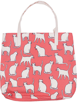 White & Pink Cats Tote