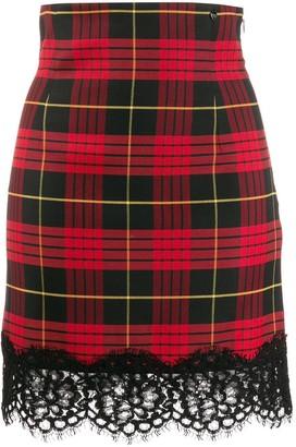 Twin-Set scalloped lace skirt