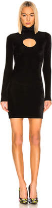 Vetements Cut Out Body Dress in Black   FWRD
