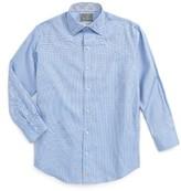 Thomas Dean Boy's Geometric Dress Shirt