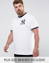 Majestic Plus Yankees Ringer T-shirt
