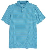 Vineyard Vines Boy's Kennedy Stripe Performance Polo
