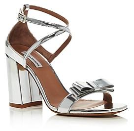 Tabitha Simmons Women's Hudson Bow High-Heel Slingback Sandals