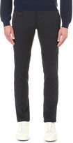 SLOWEAR Regular-fit tapered cotton trousers