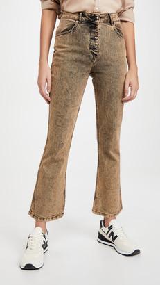 Eckhaus Latta Kick Flare Jeans